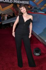 MILANA VAYNTRUB at Captain Marvel Premiere in Hollywood 03/04/2019