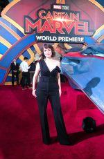 MILANA VAYNTRUB at Captain Marvel Premiere in Hollywood 03/04/2019