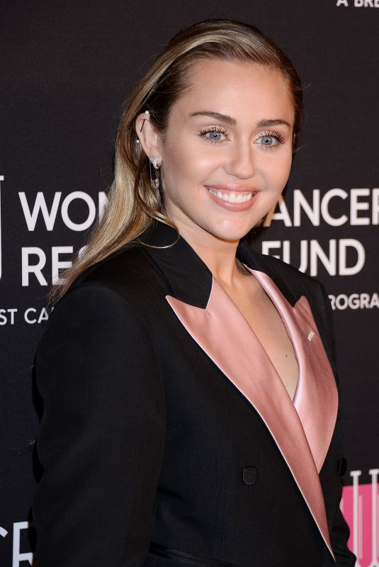 MILEY CYRUS at An Unforgettable Evening in Beverly Hills 02/28/2019