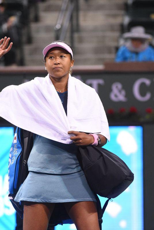 NAOMI OSAKA at 2019 Indian Wells Masters 1000 03/12/2019