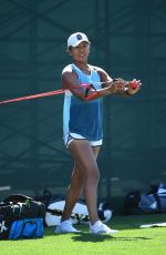 NAOMI OSAKA Training for 2019 Indian Wells Masters 1000 Tennis 03/07/2019