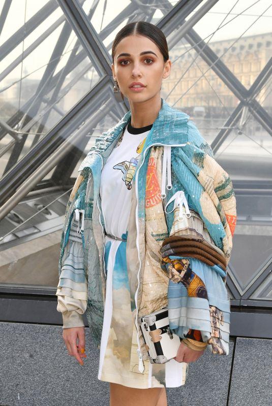 NAOMI SCOTT at Louis Vuitton Show at Paris Fashion Week 03/05/2019