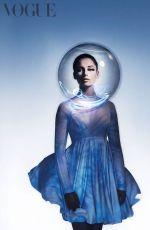 NAOMI SCOTT in Vogue Magazine, UK April 2019