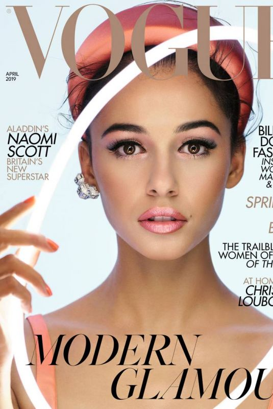 NAOMI SCOTT in Vogue Magazine, UK April 2019