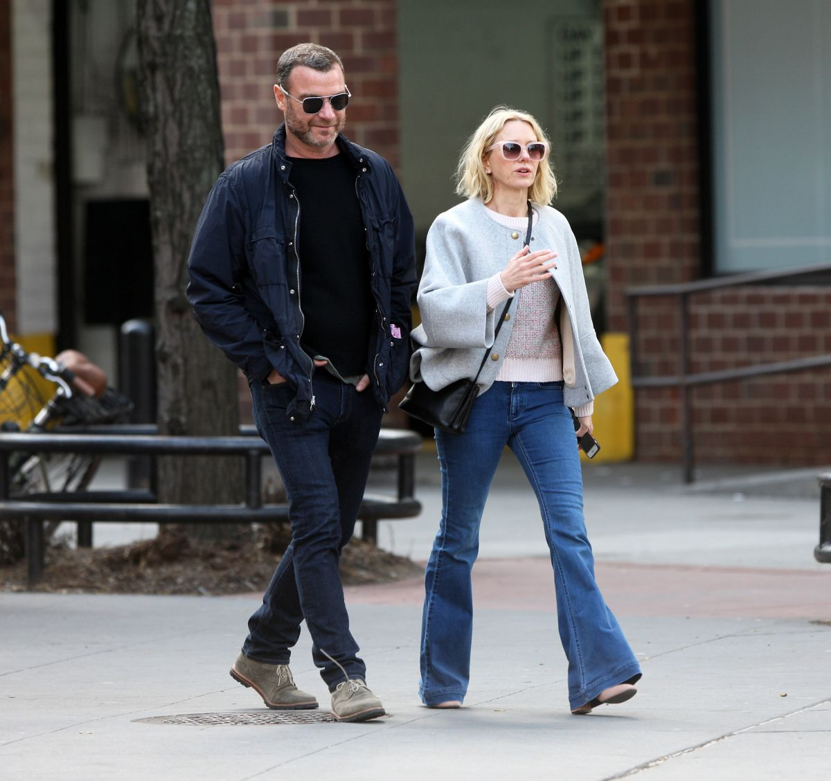NAOMI WATTS and Liev Schreiber Out in New York 03/14/2019 ...