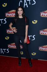 NATALEE LINEZ at Cats Opening Night Performance in Hollywood 02/27/2019
