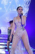 NATALIA OREIRO Performs at Her Unforgettable Tour in Moscow 03/28/2019