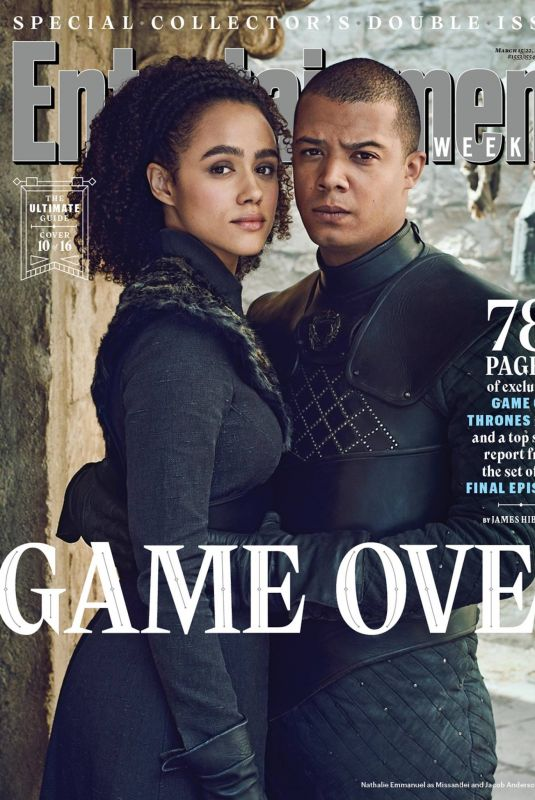 NATHALIE EMMANUEL in Entertainment Weekly, March 2019