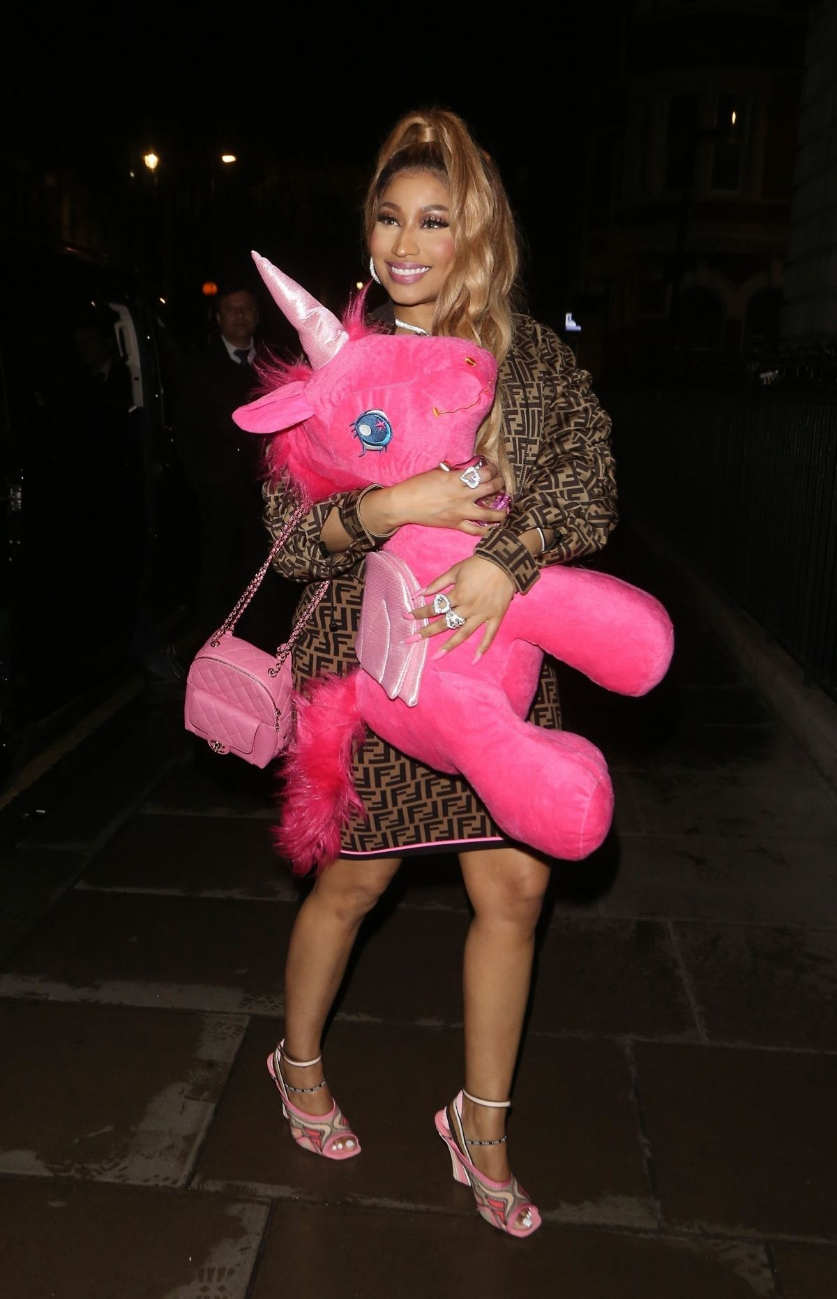 NICKI MINAJ Leaves Opium Restaurant & Club in London 03/11 ...
