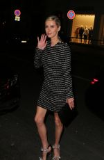 NICKY HILTON Arrives at Vogue Party in Paris 03/03/2019