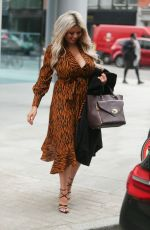 NICOLA MCLEAN Leaves ITN Studio in London 03/27/2019