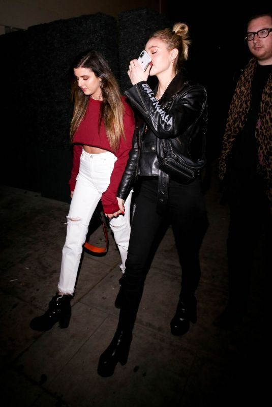 NICOLA PELTZ Arrives at Delilah in West Hollywood 03/03/2019