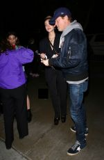 NICOLA PELTZ Arrives at Justin Timberlake Concert in Los Angeles 03/10/2019
