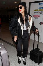 NICOLE SCHERZINGER at Los Angeles International Airport 03/07/2019