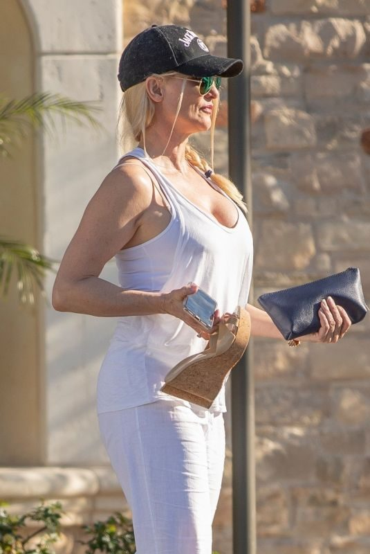 NICOLETTE SHERIDAN Out and About in Calabasas 03/18/2019