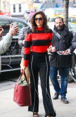 NINA DOBREV Arrives at Her Hotel in New York 02/28/2019
