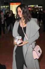NINA DOBREV at Charles De Gaulle Airport in Paris 03/02/2019