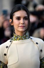 NINA DOBREV at Louis Vuitton Show at Paris Fashion Week 03/05/2019