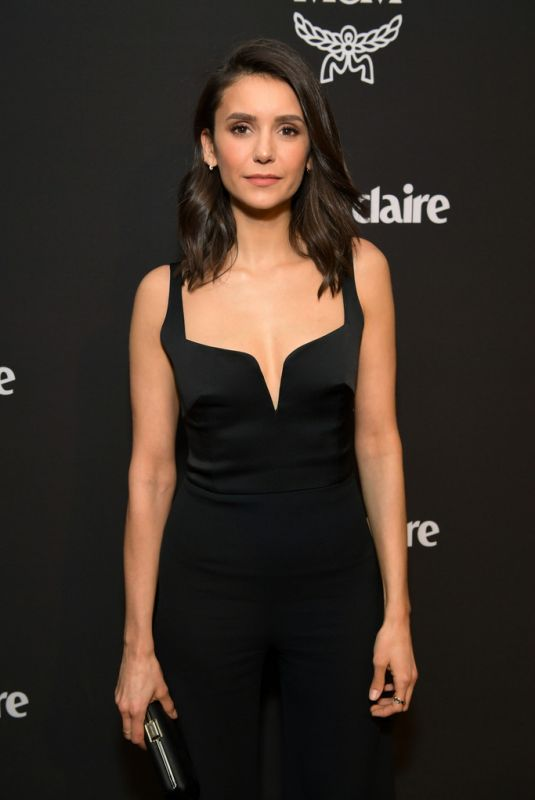 NINA DOBREV at Marie Claire Honors Hollywood