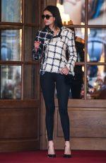 NINA DOBREV Leaves Ritz Hotel in Paris 03/06/2019