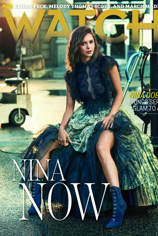NINA DOBREV on the Cover of CBS Watch Magazine, March/April 2019