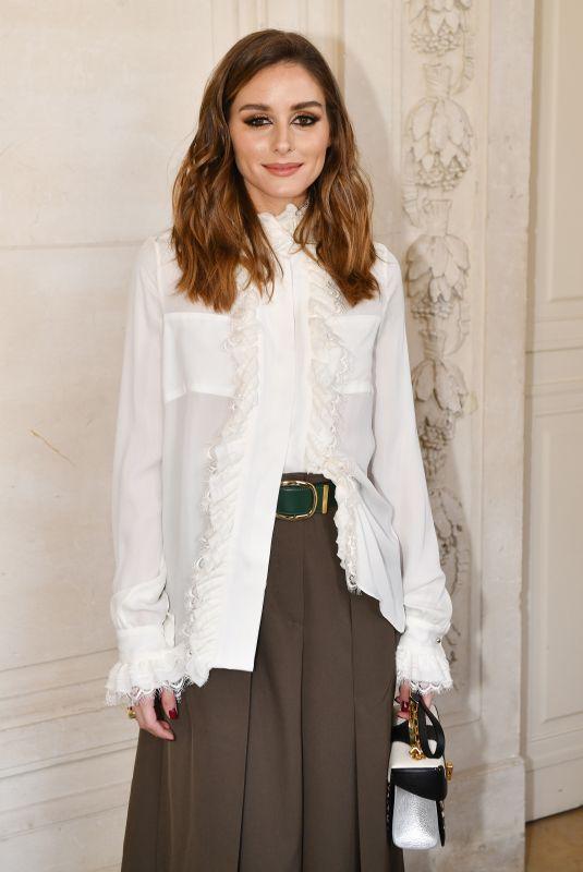 OLIVIA ALERMO at Elie Saab Show at Paris Fashion Week 02/03/2019