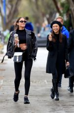 OLIVIA CULPO and CARA SANTANA Out for Ice Cream in West Hollywood 03/02/2019