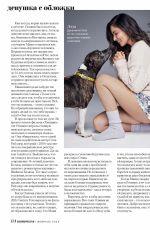 OLIVIA MUNN in Cosmopolitan Magazine, Russia February 2019