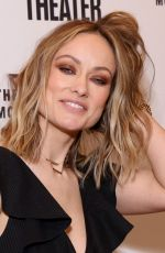 OLIVIA WILDE at Alice by Heart Broadway Play Opening Night in New York 02/26/2019
