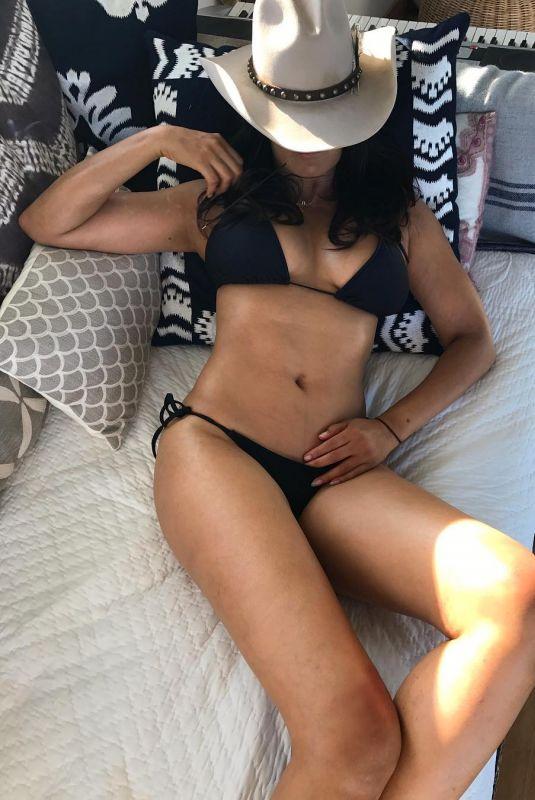PADMA LAKSHMI in Bikini - Instagram Picture 03/10/2019