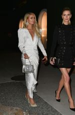 PARIS and NICKY HILTON at MCM Global Flagship Store Opening on Rodeo Drive in Beverly Hills 03/14/2019