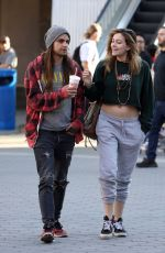 PARIS JACKSON and Gabriel Glenn Out in Los Angeles 03/16/2019