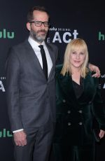 PATRICIA ARQUETTE at The Act Premiere in New York 03/14/2019