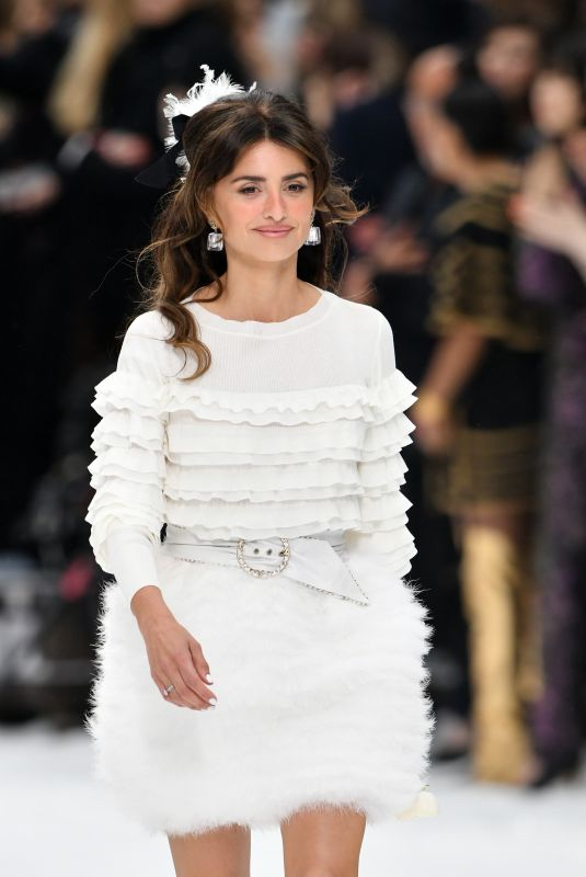 PENELOPE CRUZ at Chanel Runway Show at Paris Fashion Week 03/05/2019