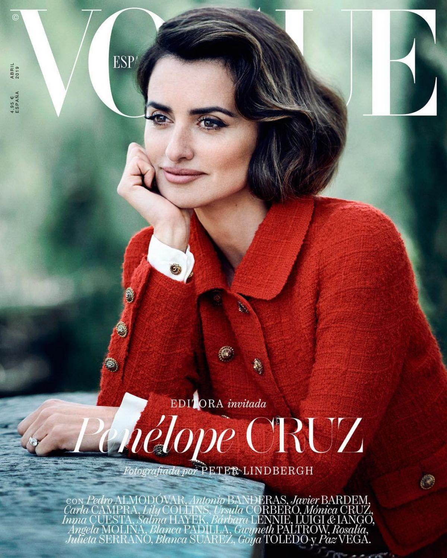 PENELOPE CRUZ For Vogue Magazine, Spain April 2019