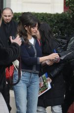 PENELOPE CRUZ Leaves LA Reserve Hotel in Paris 03/05/2019