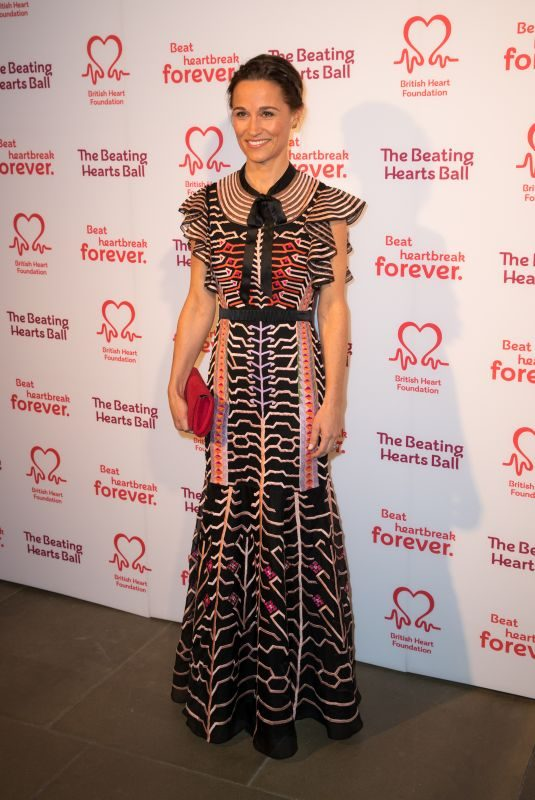 PIPPA MIDDLETON at British Heart Foundation Beating Hearts Ball in London 02/27/2019