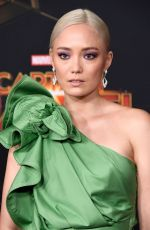 POM KLEMENTIEFF at Captain Marvel Premiere in Hollywood 03/04/2019