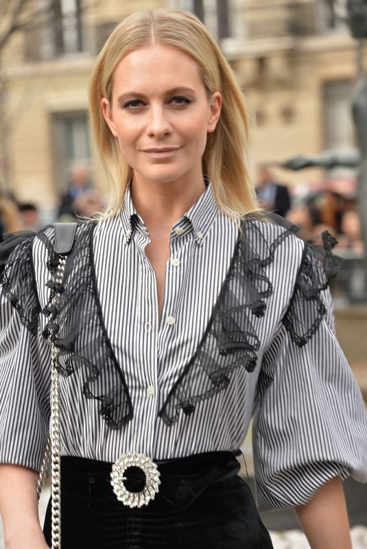 POPPY DELEVINGNE at Miu Miu Fashion Show 03/05/2019