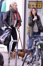 Pregnant ALEX JONES Out Shopping in Chiswick in London 03/09/2019