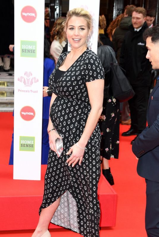 Pregnant GEMMA ATKINSON at The Prince's Trust, Tkmaxx and Homesense Awards in London 03/13/2019