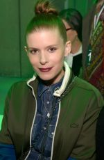 Pregnant KATE MARA at Lacoste Fashion Show at PFW in Paris 03/05/2019