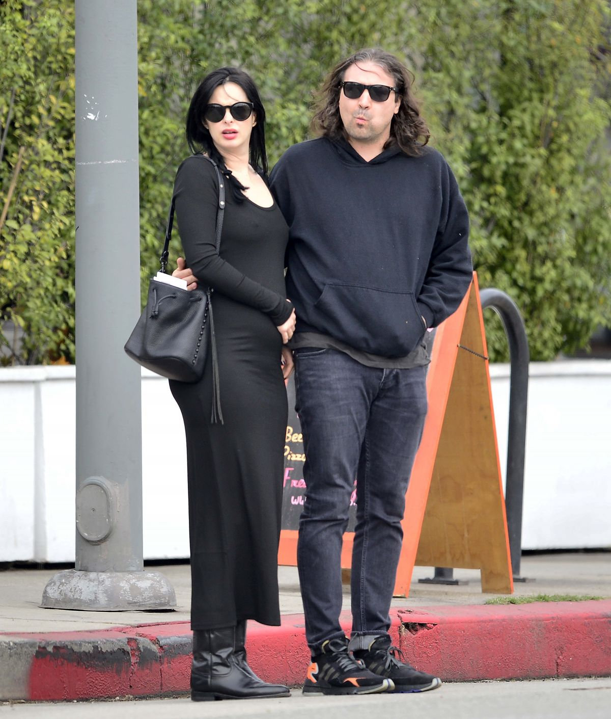Pregnant KRYSTEN RITTER Out and About in Los Angeles 02/27 ...