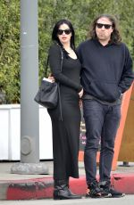 Pregnant KRYSTEN RITTER Out and About in Los Angeles 02/27/2019