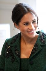 Pregnant MEGHAN MARKLE at Commonwealth Day Youth Evenet at Canada House in London 03/11/2019