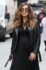 Pregnant MYLEENE KLASS Leaves Global Studios on London 03/15/2019