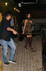 PRIYANKA CHOPRA Heading to Soho House in Mumbai 03/09/2019