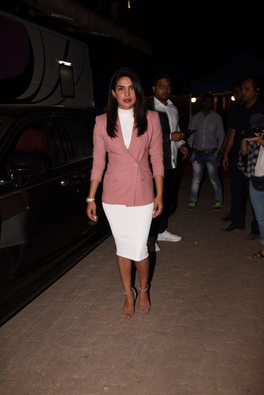 PRIYANKA CHOPRA Night Out in Mumbai 03/10/2019