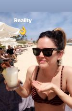 RACHEL BILSON in Bikini at a Beach - 03/16/2019 Instagram Pictures