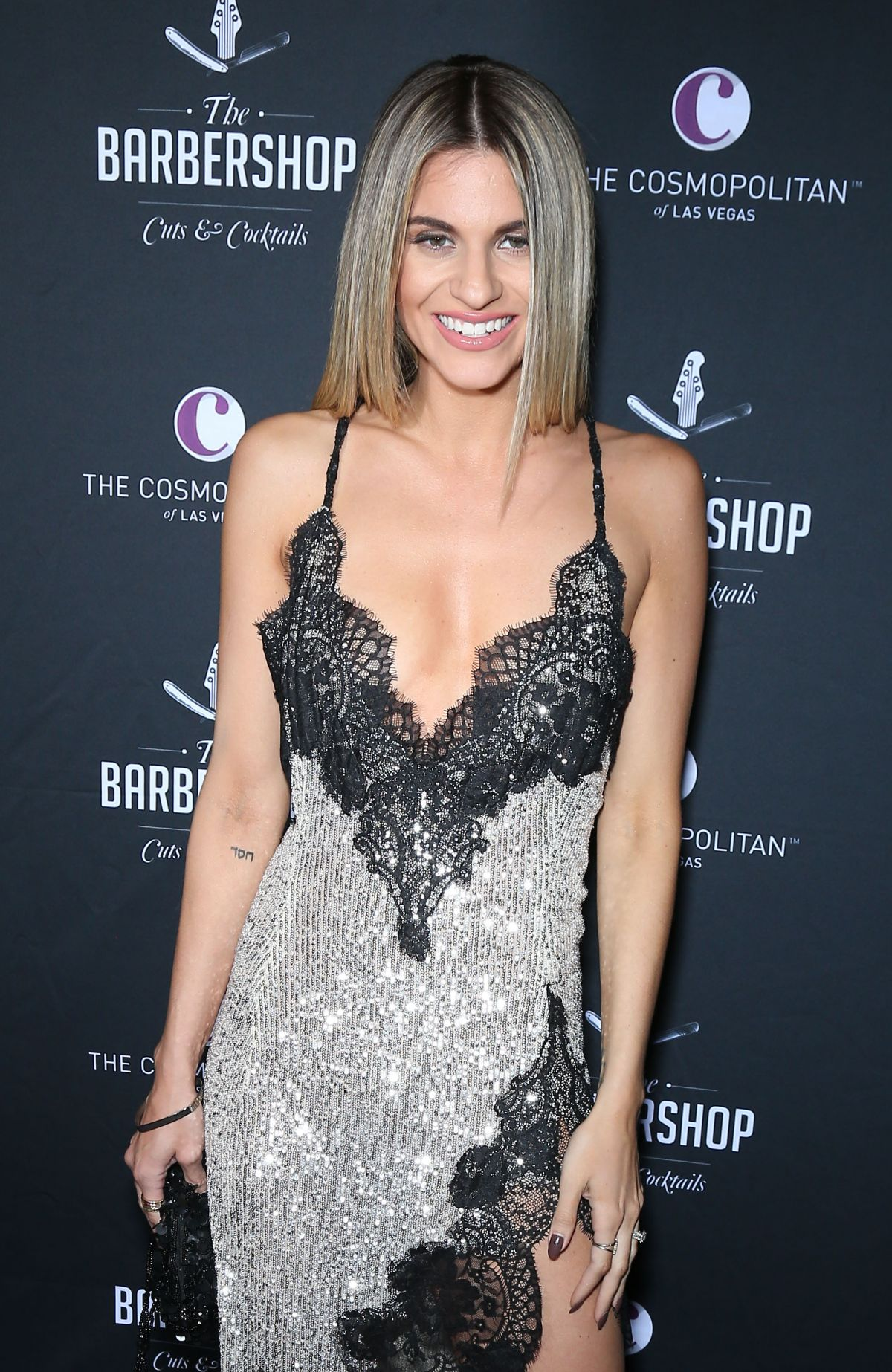 RACHEL MCCORD at Barbershop Cuts and Cocktails Opening, Day